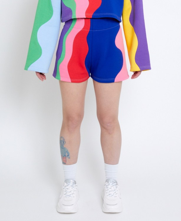 Gay Pride Mini Shorts