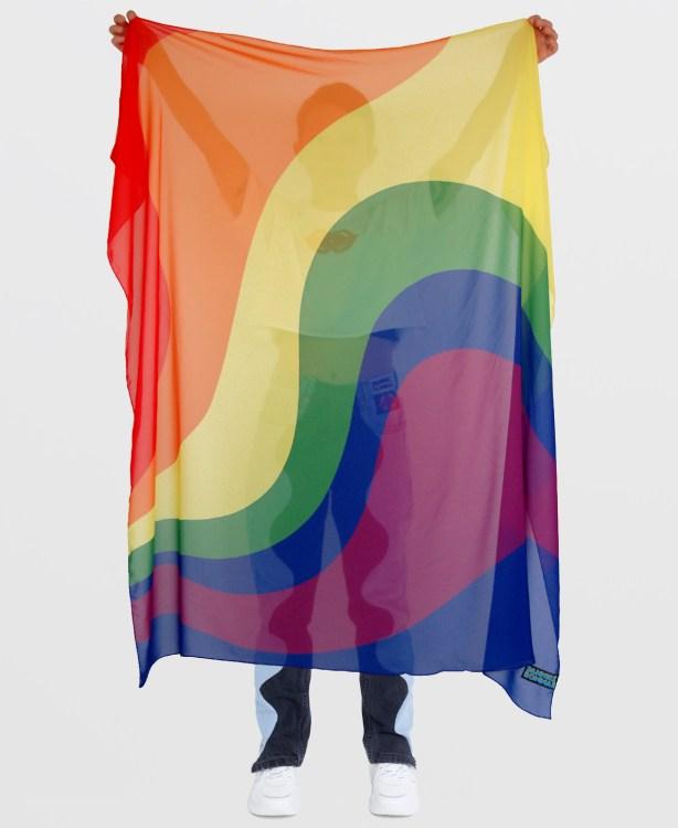 GAY PRIDE FLAG JANNIKE SOMMAR